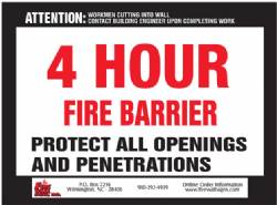 4 HR Fire Barrier QTY: 100-249