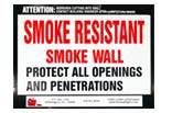 Smoke Resistant Smoke Wall - Qty: 250+