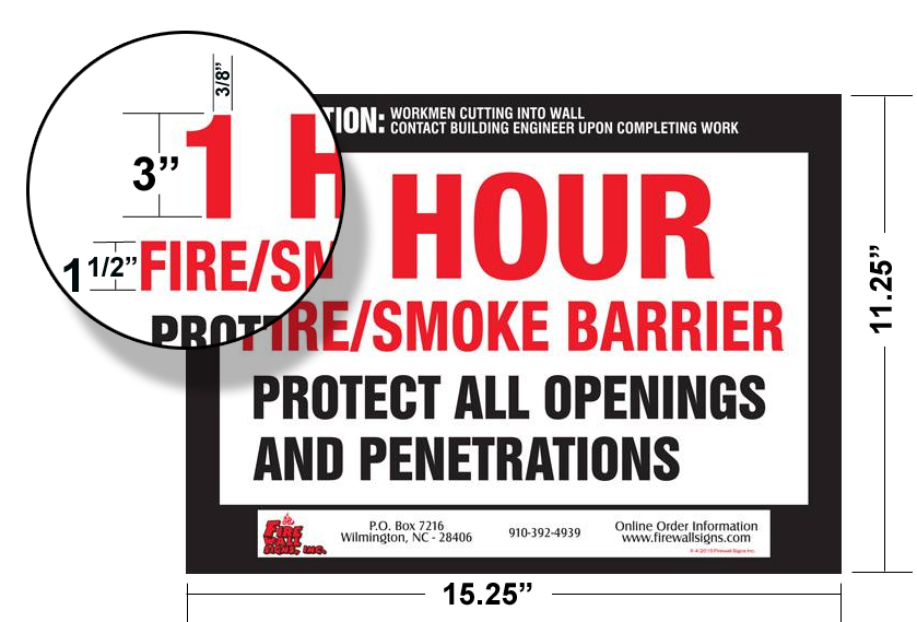 Demising Wall Fire Rating : Hour fire partition qty hfp